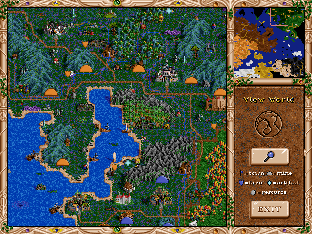 Free Heroes of Might and Magic II (fheroes2) General Announcements View_w10