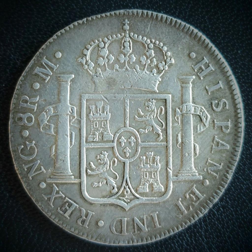 8 Reales 1810, Guatemala, Virreinato de Nueva España. 20210712