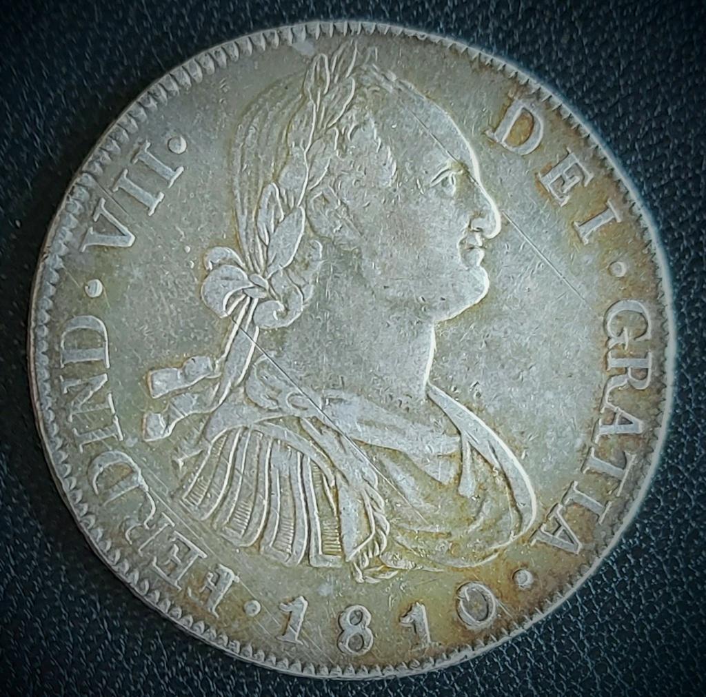 8 Reales 1810, Guatemala, Virreinato de Nueva España. 20210713