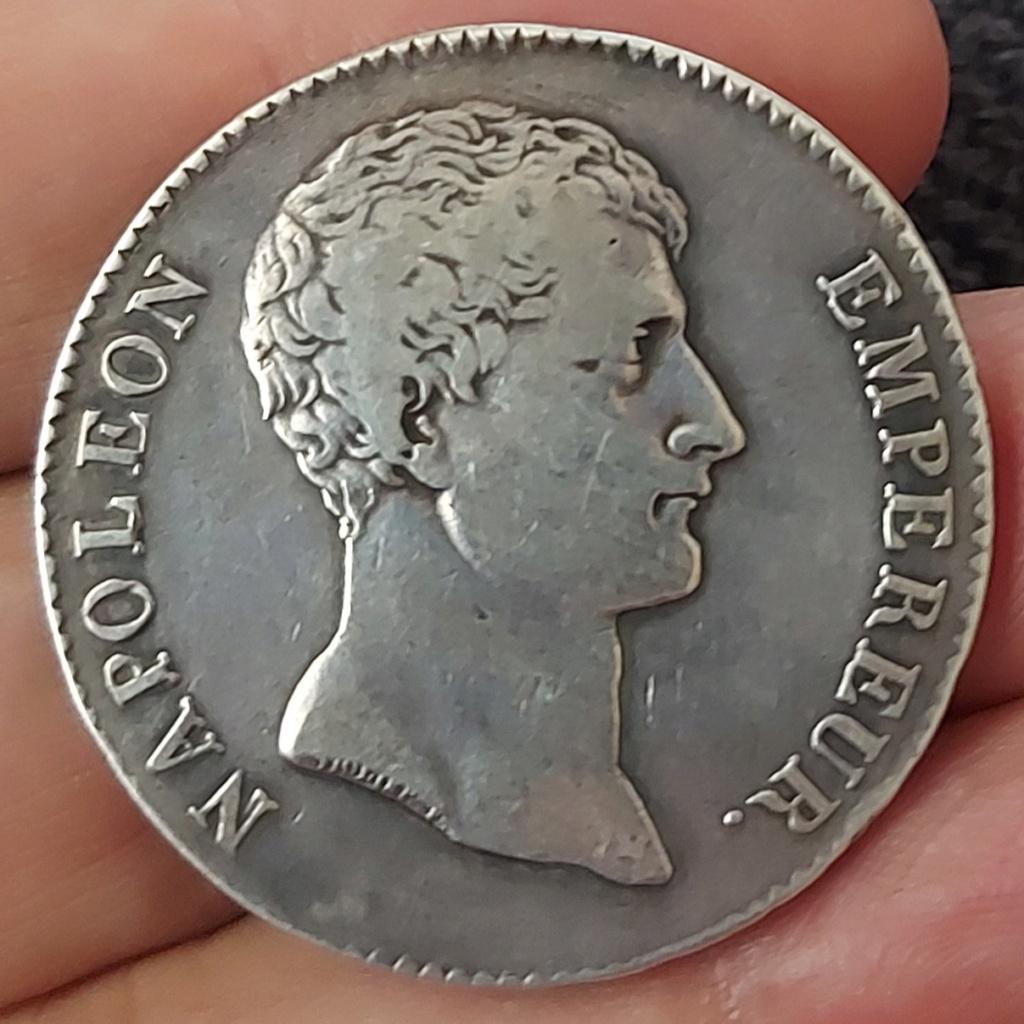 Francia, 5 Francos An 12 (1804), París (A) 20210811