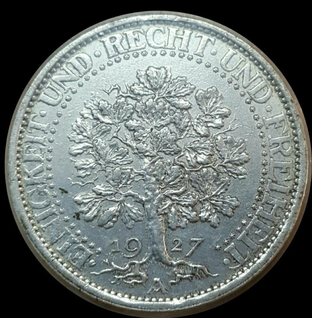 República de Weimar: 5 Reichsmark 1927 A Screen72
