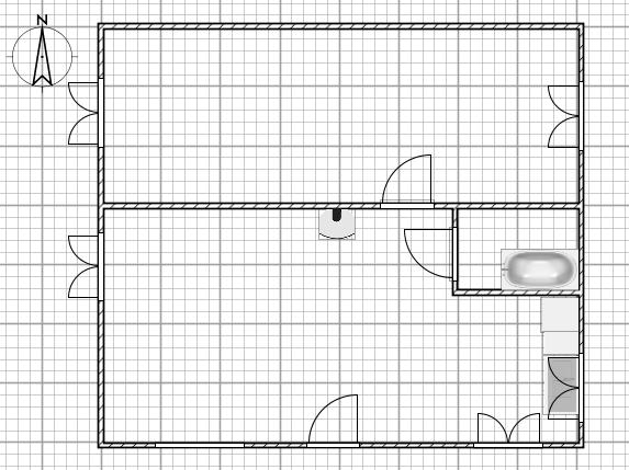 Passages des fils/gaines Plan10