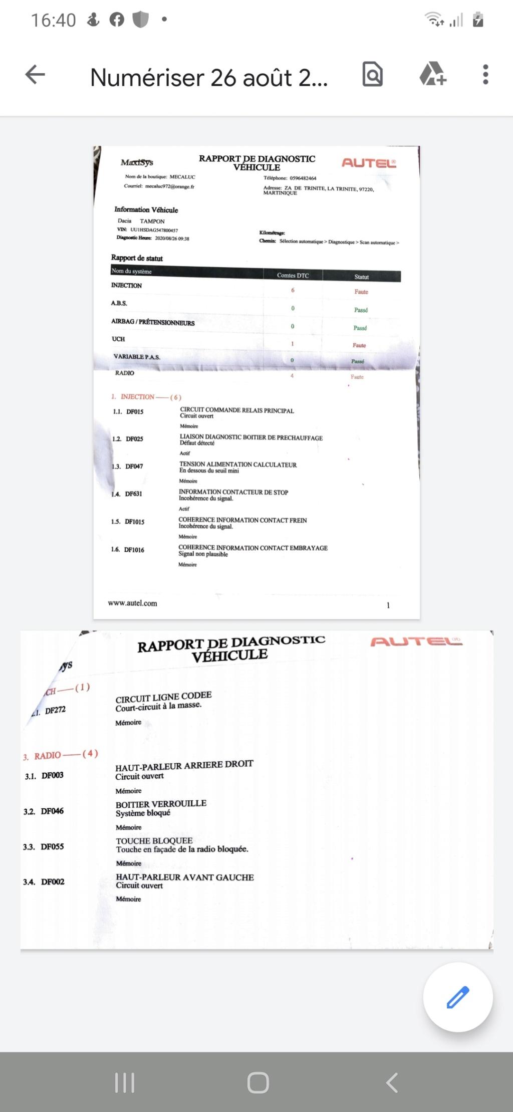 [ Dacia Duster 1.9dci 90 an 2012 ] témoin préchauffage Screen10
