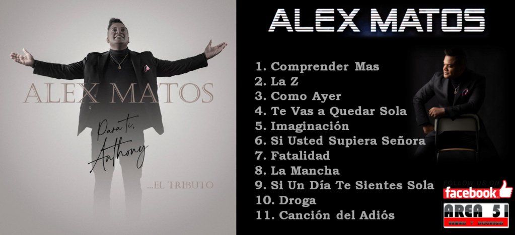 ALEX MATOS - PARA TI ANTHONY...EL TRIBUTO (2021) Alex_m10