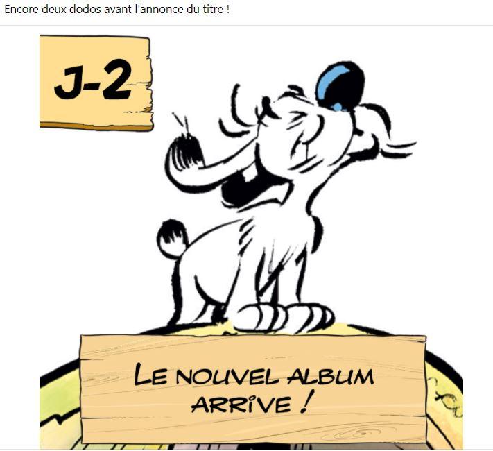 """Annonces pour le prochain album """"Astérix et le griffon"""" octobre 2021 1411"""
