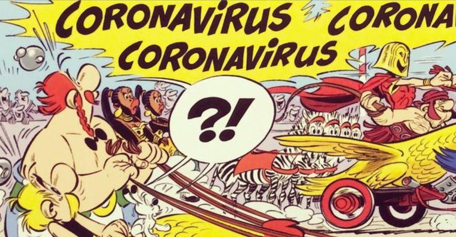 Astérix 39:  la nouvelle planche ! - Page 2 Corona10
