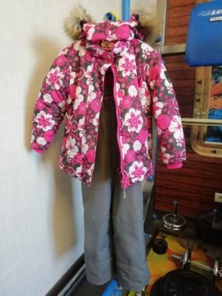 Зимний костюм на девочку, размер 110 115
