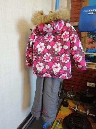 Зимний костюм на девочку, размер 110 213