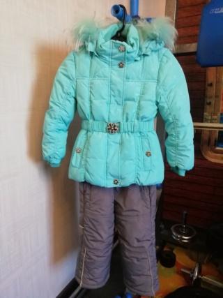 Зимний костюм на девочку, размер 104 315