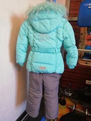 Зимний костюм на девочку, размер 104 415