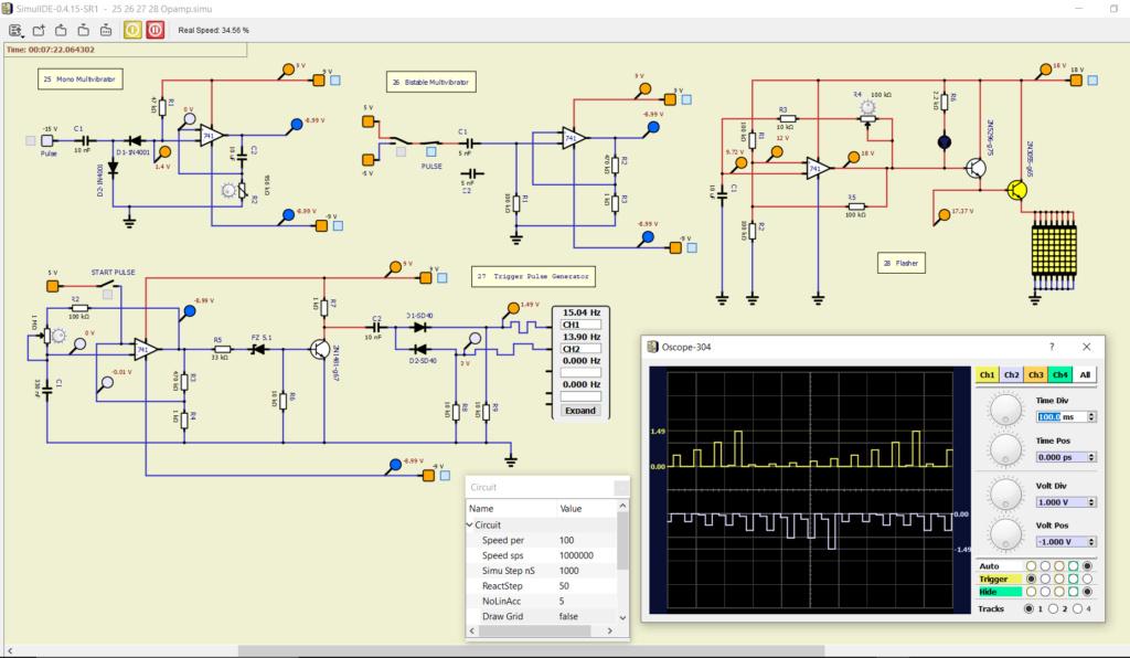 Opamp 741 simulations 25_26_10