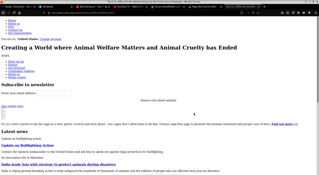 petition, les animaux comptent pour moi. Captur12
