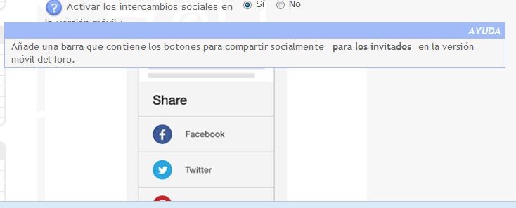 Compartir en redes  sociales desde la version movil  para invitados 9ydb7f10