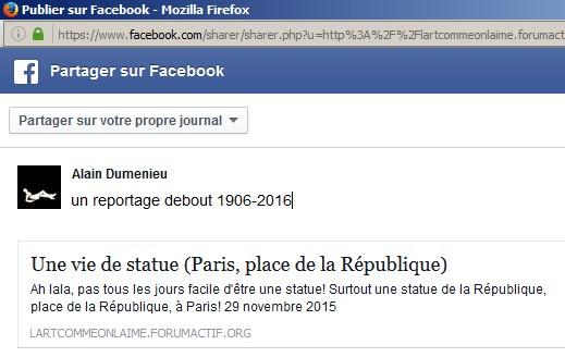 Une vie de statue (Paris, place de la République) Report10