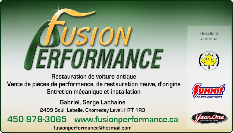 Fusion Performance Fusion11