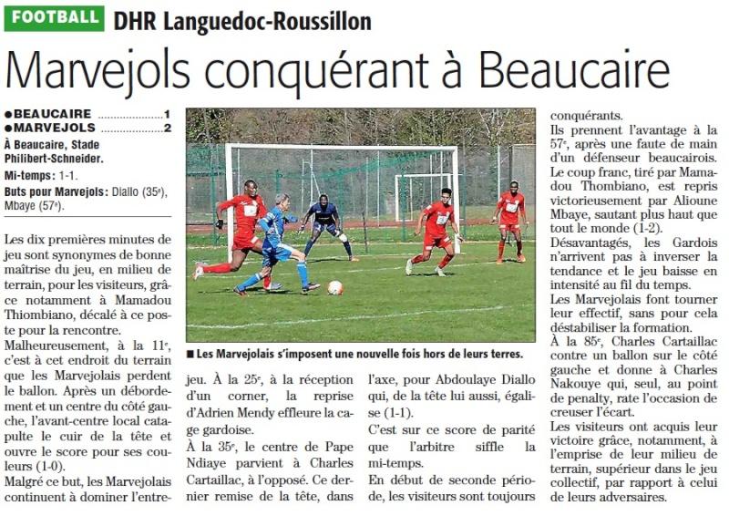 Beaucaire / MARVEJOLS Bocair10