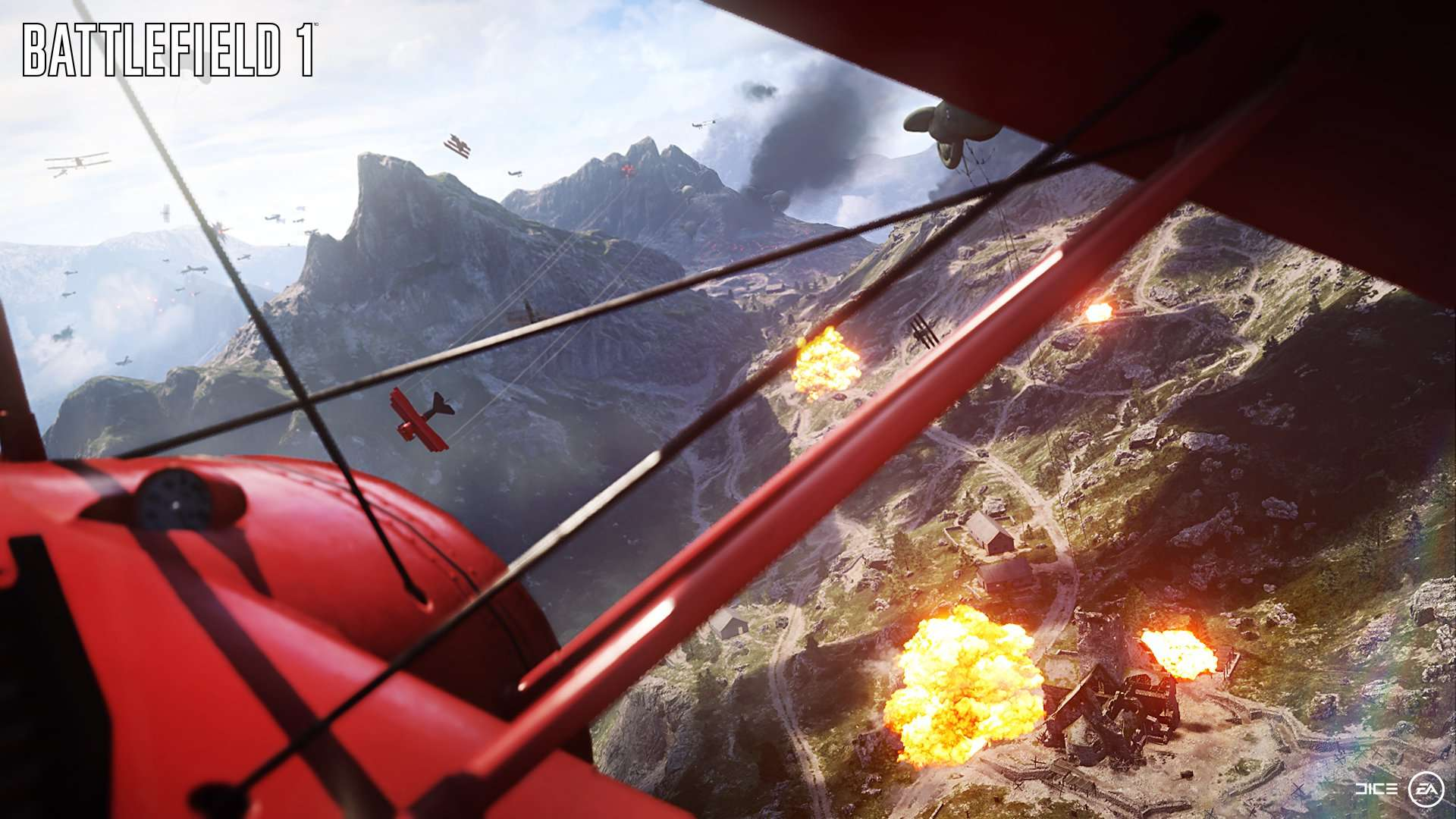 BATTLEFIELD 1 - Images, date et bande annonce explosive ! Battle14