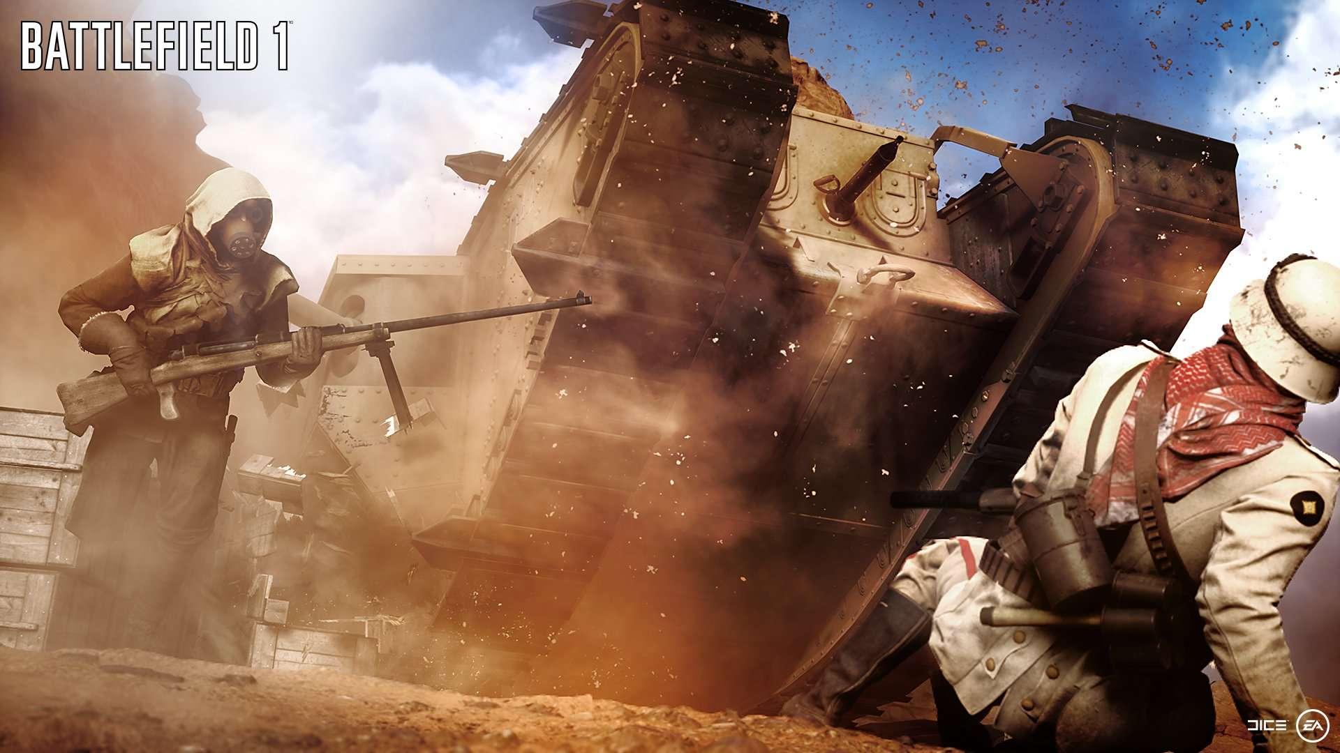 Aucune bataille ne se ressemble dans Battlefield 1 Battle15