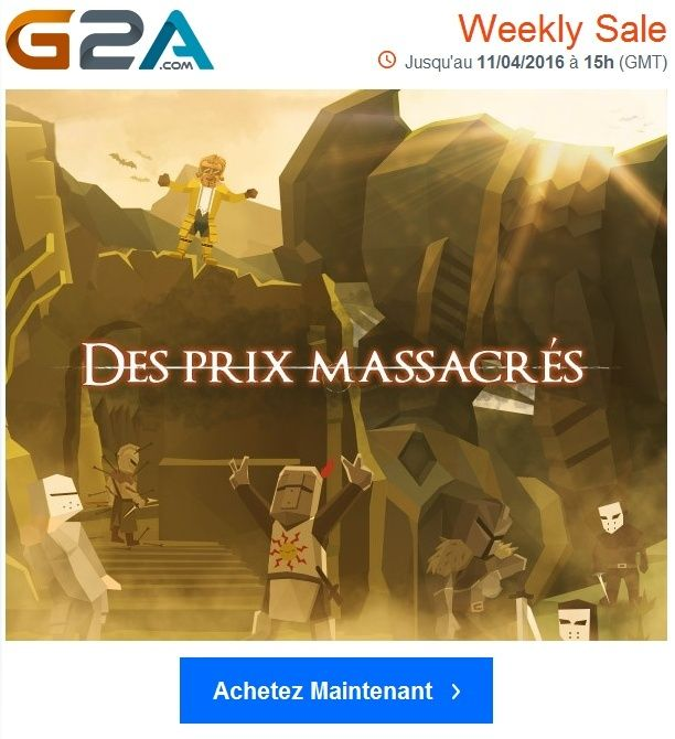 G2A - Les jeux les plus recherchés par les Gamers sont ici ! Jusqu'au 11/04/2016 à 15h (GMT) Captur11