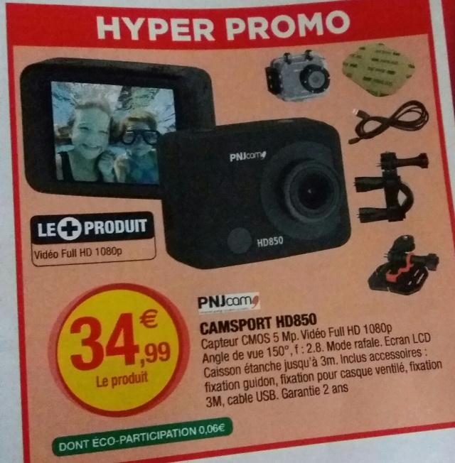 caméra sport type gopro Pnjcam HD850 à 34.99€ 20160511