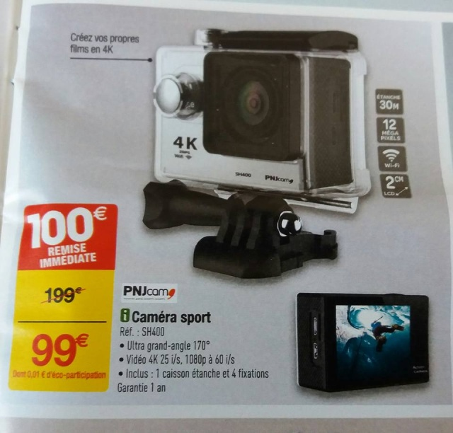CAMERA PNJ SH400 à 99€ Camera10