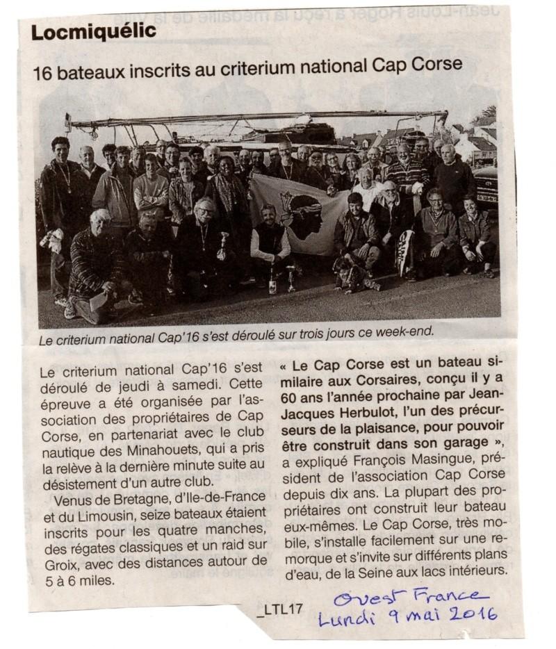 Critérium National CAP Corse CAP 16 et Pré Cap ïle de Groix Cap_2010