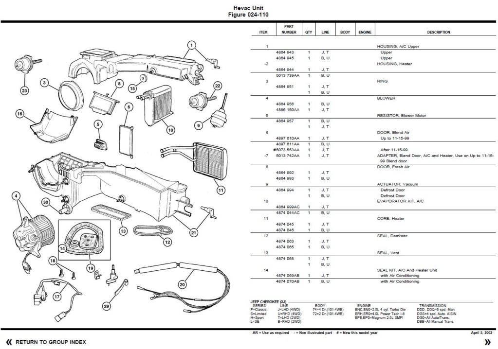 Pas de chauffage dans ma Jeep Cherokee XJ - Page 2 Captur18