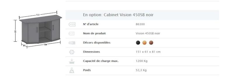 Information meuble JEWEL VISION 450 Meuble10