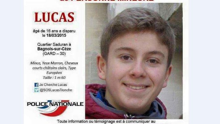 Gard : disparition inquiétante d'un adolescent de 16 ans à Bagnols-sur-Cèze - Page 3 Lucas611