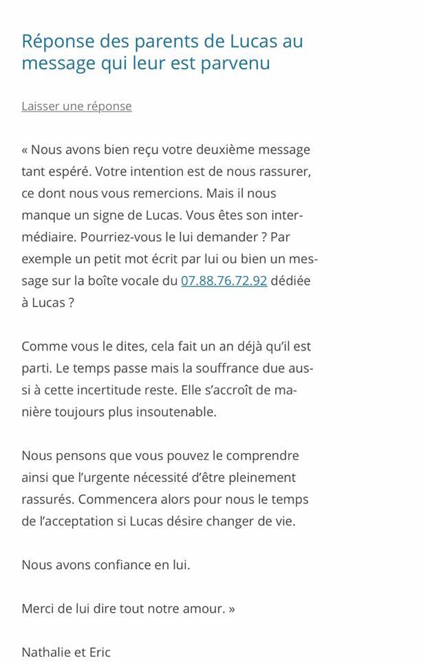 Gard : disparition inquiétante d'un adolescent de 16 ans à Bagnols-sur-Cèze - Page 3 Parent10