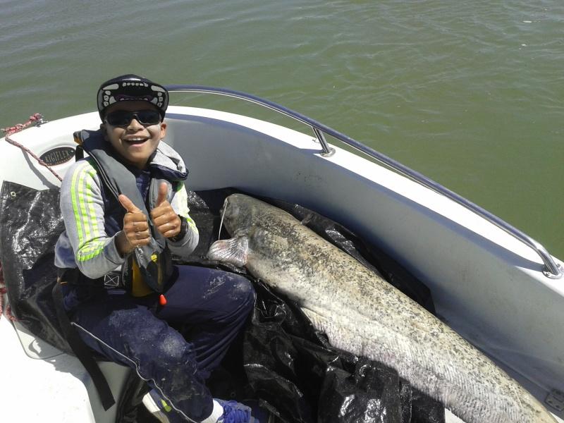 Initiation Pêche sur le Rhône B1010