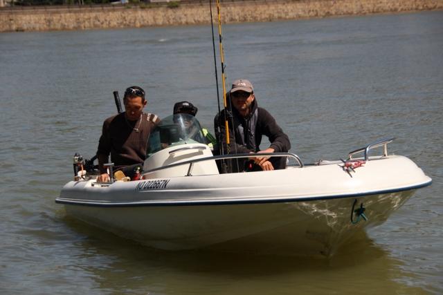Initiation Pêche sur le Rhône Img_0310