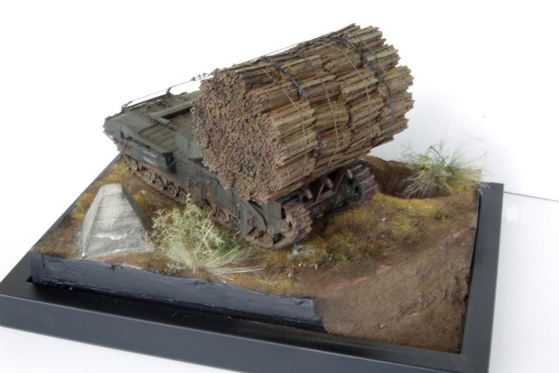 Churchill MK IV AVRE Porte-fascines AFV 1/35 - Page 2 Imgp6811