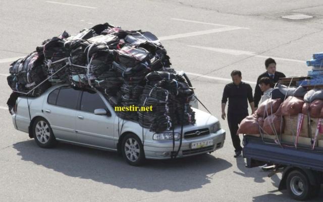 des véhicules incroyablement chargés A1513