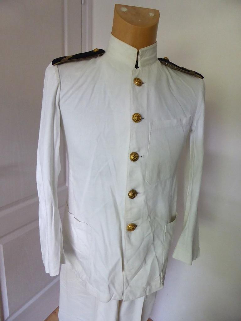 Uniforme blanc officier marinier Blanc10