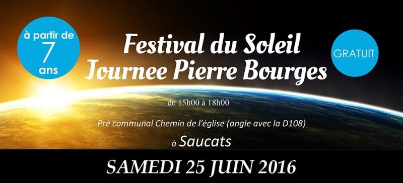 FESTIVAL DU SOLEIL samedi 25 juin 2016 Affich10