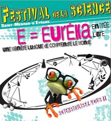 FESTIVAL DE LA SCIENCE samedi 3 octobre 2020 à Saint-Médard d'Eyrans Festiv10
