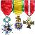 Les insignes et décorations