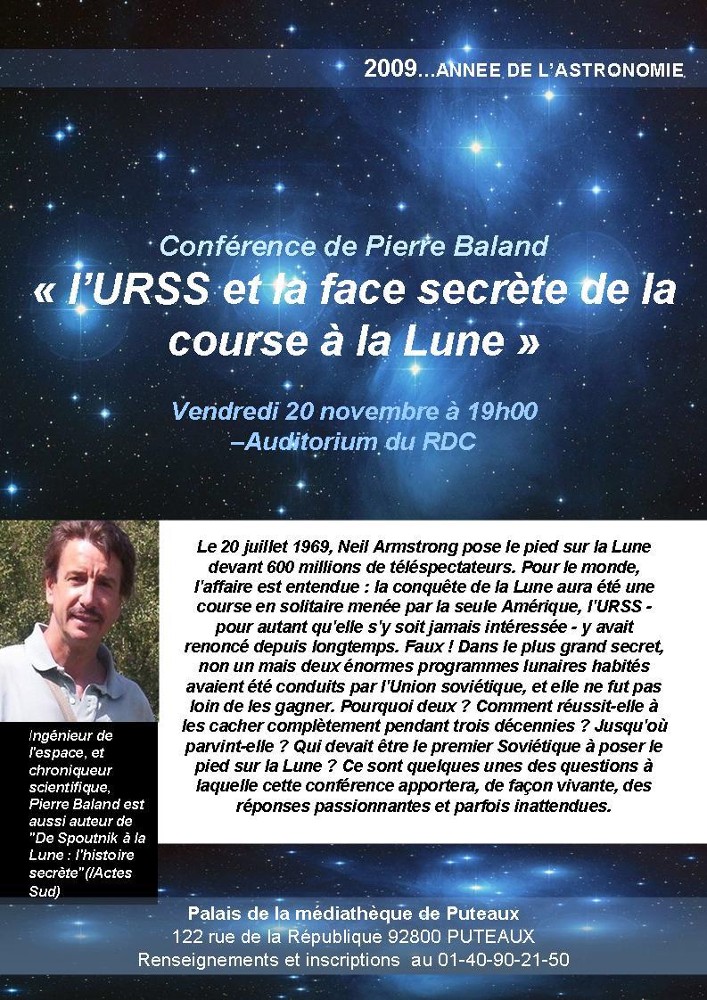 Conférence de Pierre Baland à Puteaux 09_11_10
