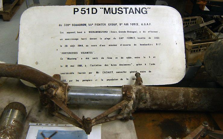 Tiens je viens de retrouver cela: épave de P-51 Hpim3722