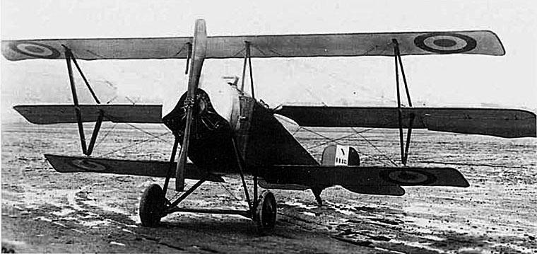 Plaque Avions Nieuport delage Tripla10