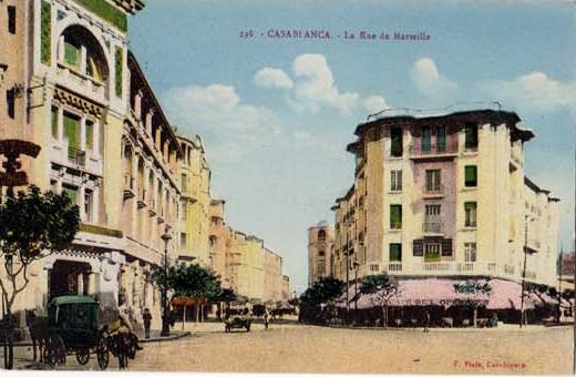 CARTES POSTALES ANCIENNES DE CASABLANCA collection Soly Anidjar 1011
