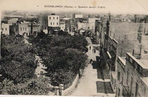 CARTES POSTALES ANCIENNES DE CASABLANCA collection Soly Anidjar 115