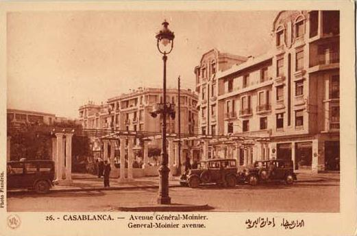 CARTES POSTALES ANCIENNES DE CASABLANCA collection Soly Anidjar 1310