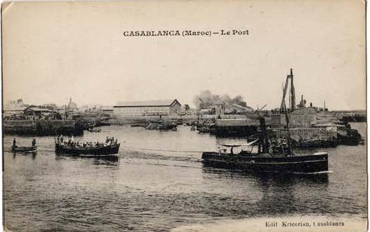 CARTES POSTALES ANCIENNES DE CASABLANCA collection Soly Anidjar 1610