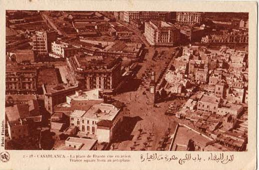 CARTES POSTALES ANCIENNES DE CASABLANCA collection Soly Anidjar 2210
