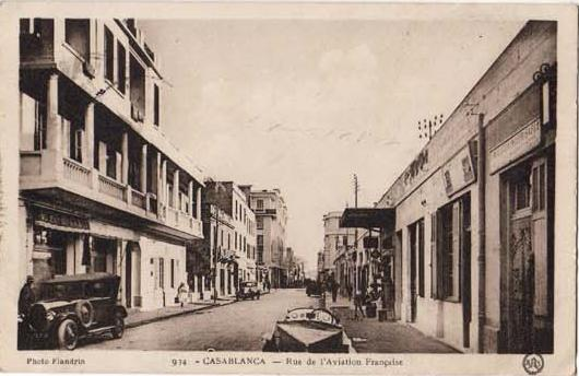 CARTES POSTALES ANCIENNES DE CASABLANCA collection Soly Anidjar 315