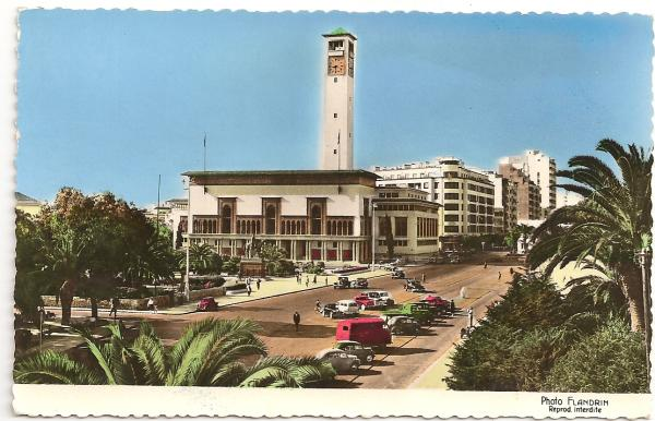 CARTES POSTALES ANCIENNES DE CASABLANCA collection Soly Anidjar 427710