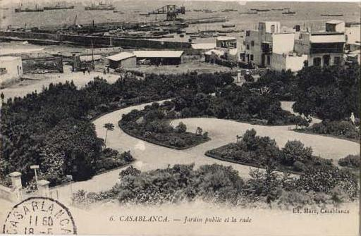 CARTES POSTALES ANCIENNES DE CASABLANCA collection Soly Anidjar 511