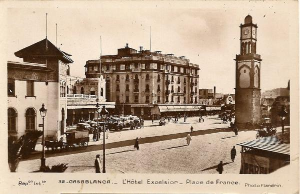 CARTES POSTALES ANCIENNES DE CASABLANCA collection Soly Anidjar 560610